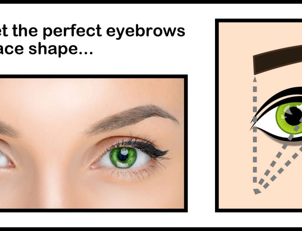 How to get the perfect eyebrows for your face shape