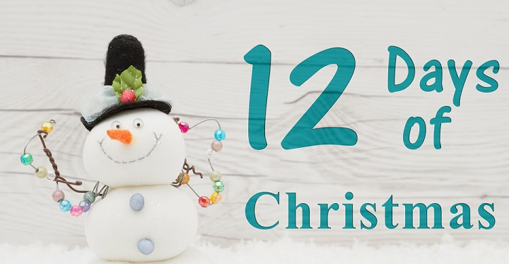 The twelve days of Christmas at The Beauty Spot