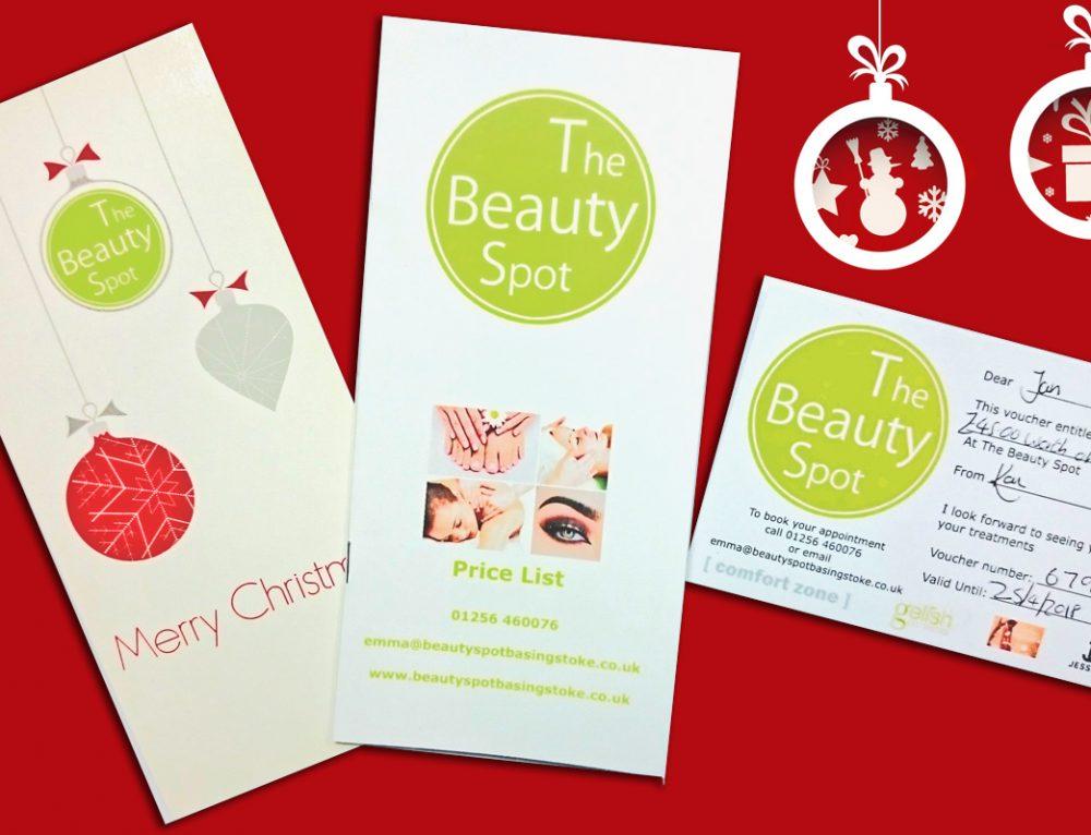 Last minute Christmas shopping ideas – beauty gift vouchers