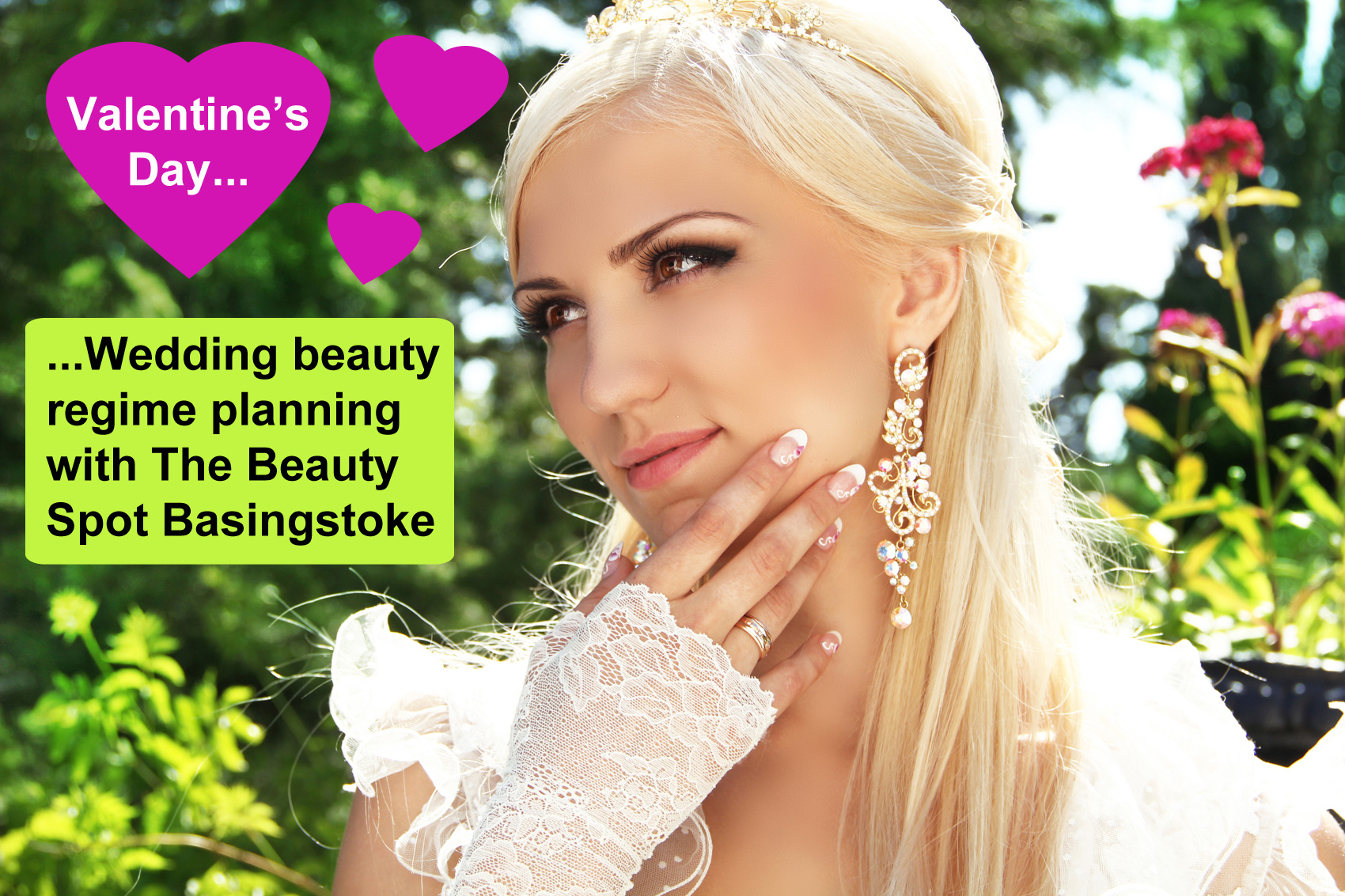 Plan Your Wedding Beauty Regime with The Beauty Spot at Basingstoke