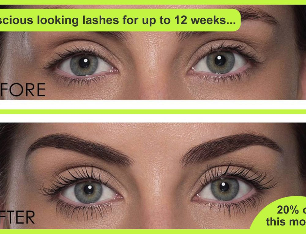 How to get luscious looking eye lashes that last up to 12 weeks