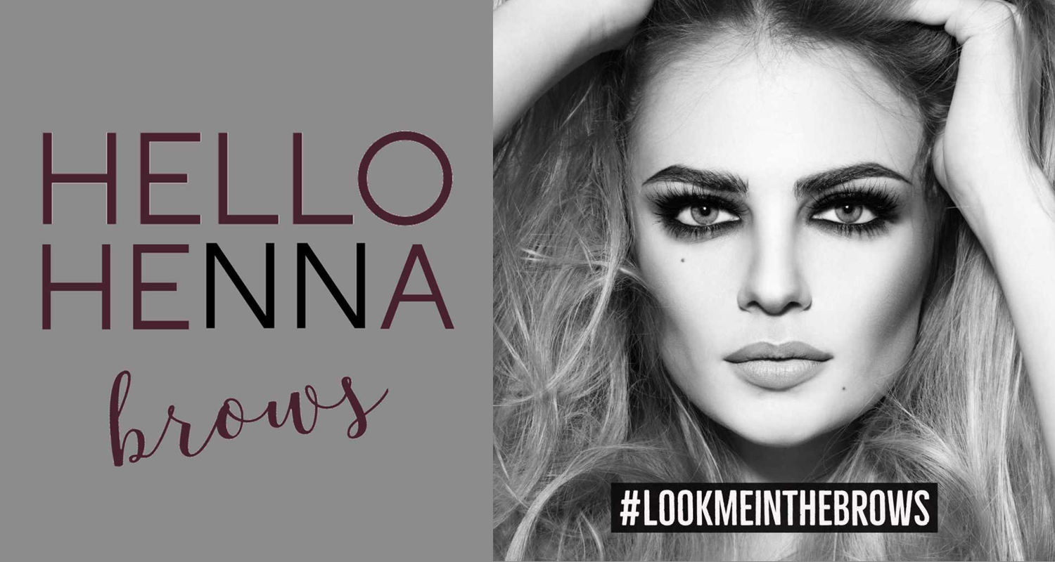 The 'must have' new eyebrow treatment – Hello Henna Brows!