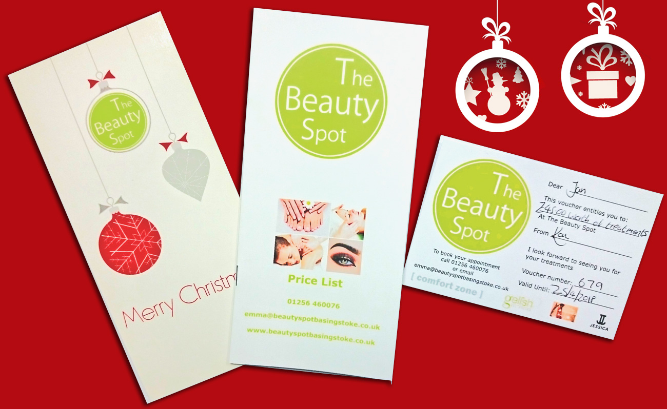 The Beauty Spot's Black Friday gift voucher offer
