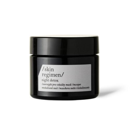 comfort zone skin regimen night detox mask
