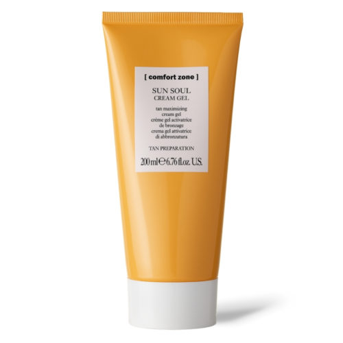 comfort zone sun soul cream gel tan maximiser